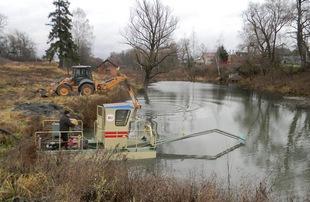 Очистка водоемов как обязательная процедура